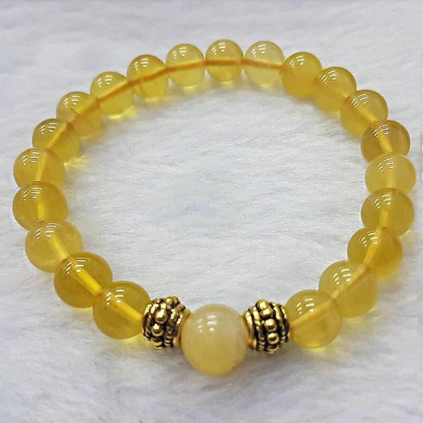 Gelang Kristal Lemon Quartz